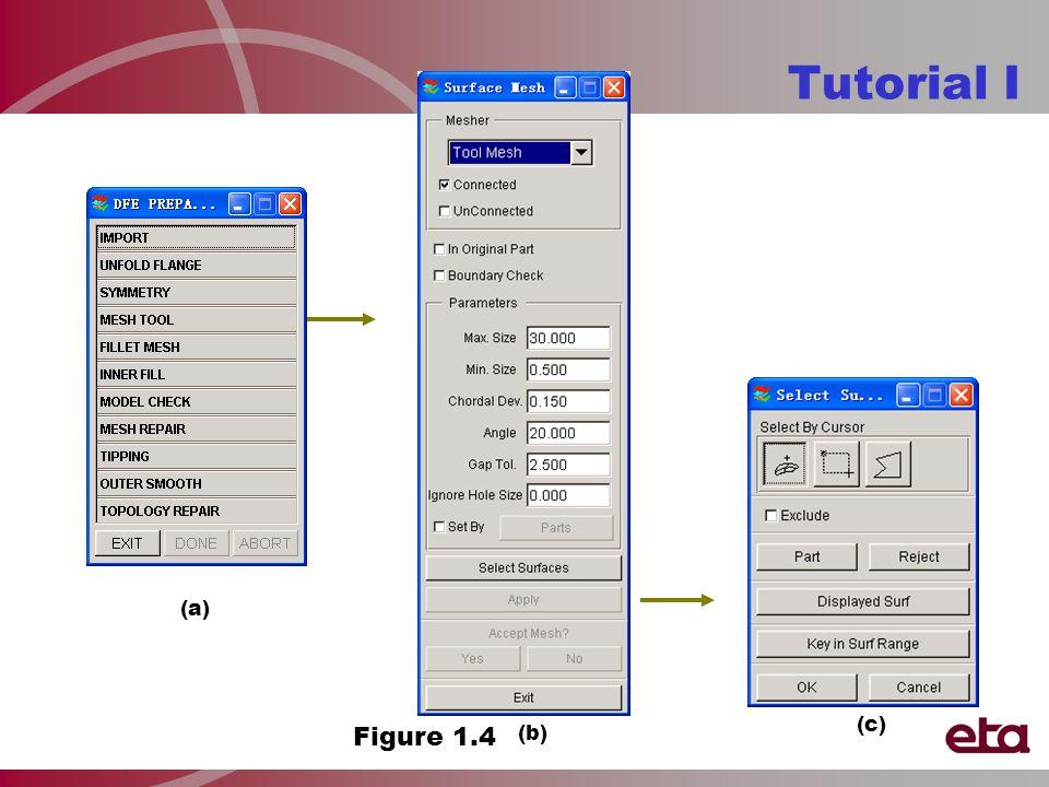 Tutorial I Figure 1.4 (a) (b) (c)