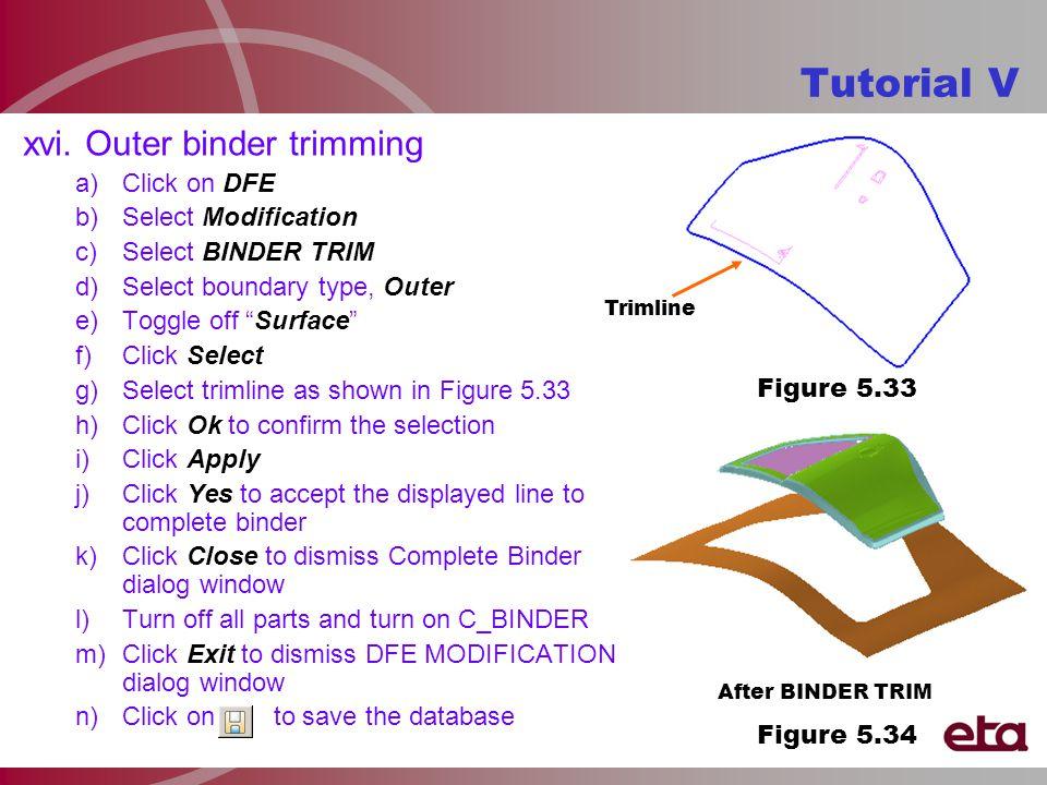 Tutorial V After BINDER TRIM xvi.