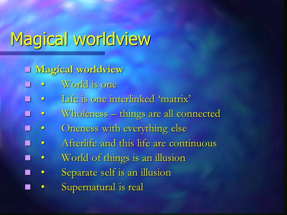 Paranormal is possible How the paranormal might be theoretically possible, How the paranormal might be theoretically possible, hinges very largely on an analysis hinges very largely on an analysis of why fragmenting the world of why fragmenting the world into named things into named things is the source of our 'primary delusion' is the source of our 'primary delusion'