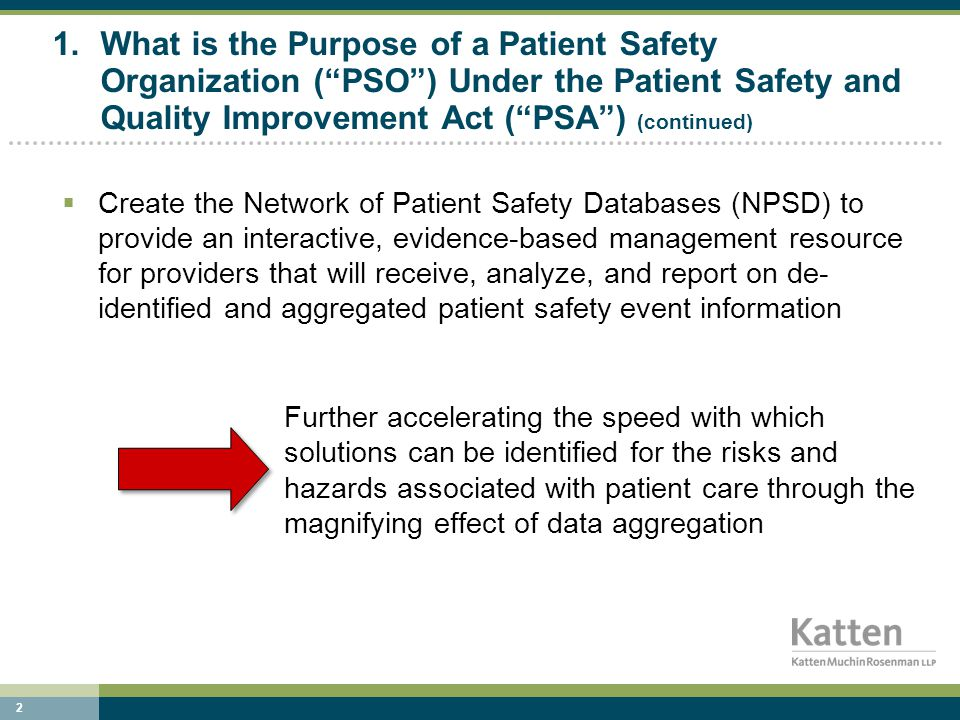 13 6.What confidentiality/privilege protections does a provider have today – does a PSO enhance that.