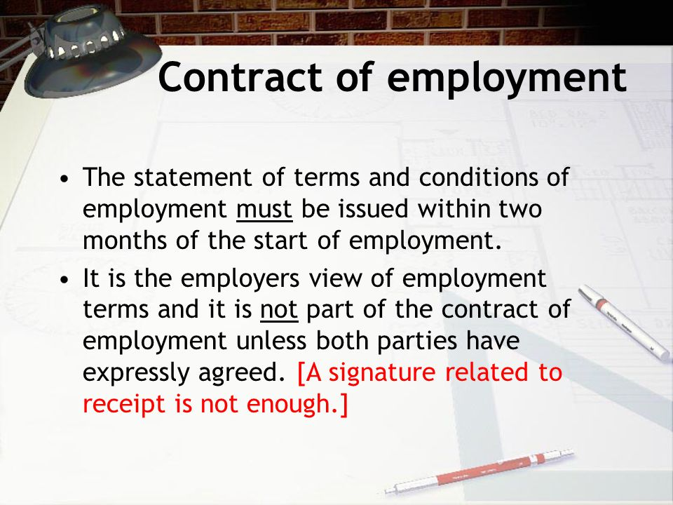 Common implied terms They are too obvious to be recorded Common practice within the particular business or industry Necessary to make the contract work Parties by their behaviour have shown their acceptance of such terms.