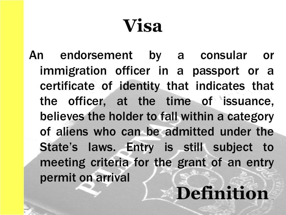 The Philippine Visa