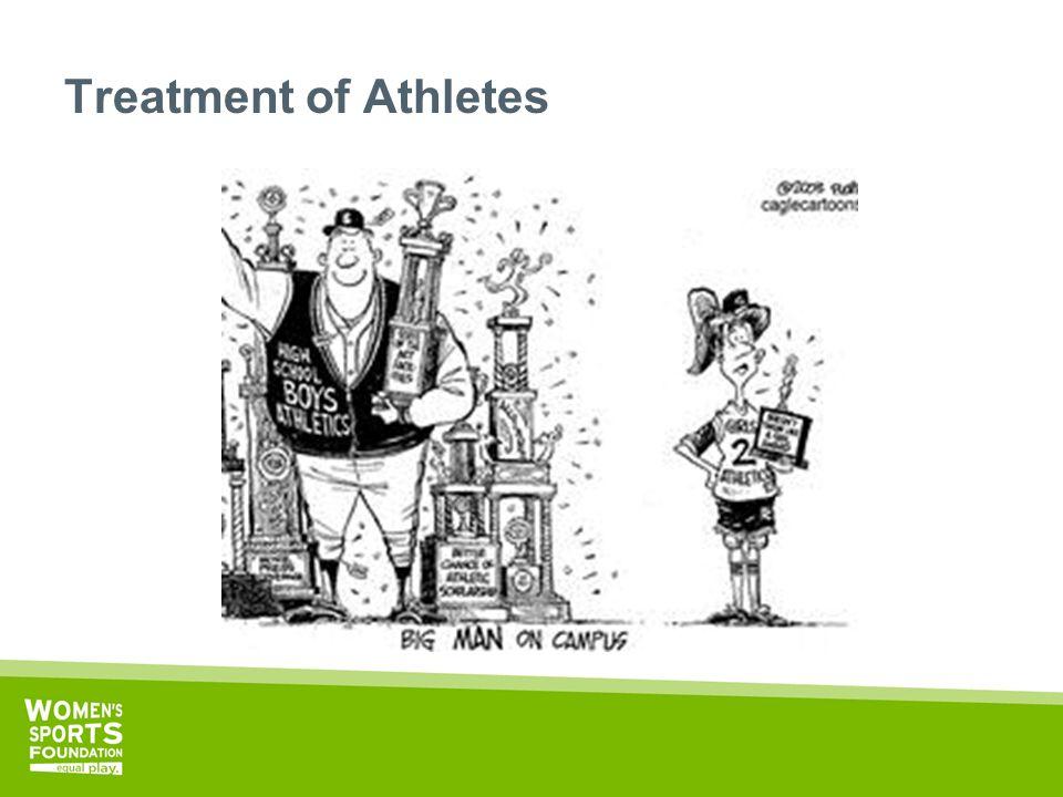 Treatment of Athletes