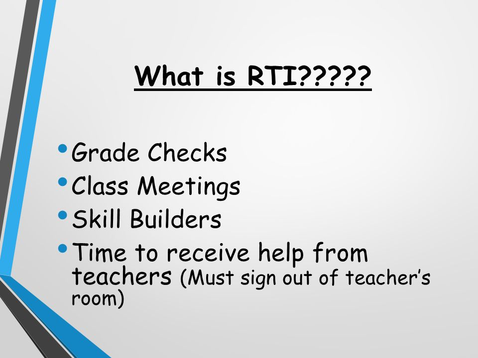 What is RTI????.