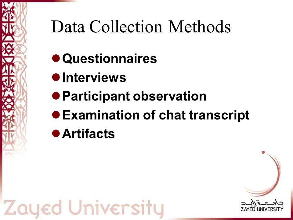 Data Analysis Transcribing Concept coding Open coding Axial coding External validation
