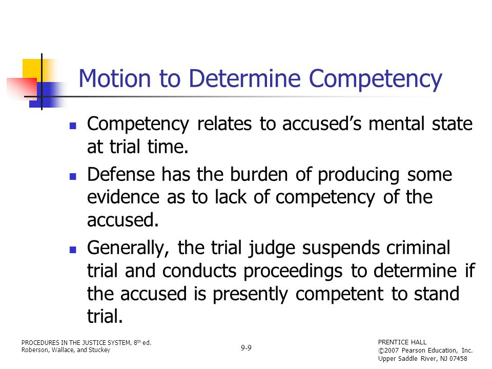 PROCEDURES IN THE JUSTICE SYSTEM, 8 th ed.