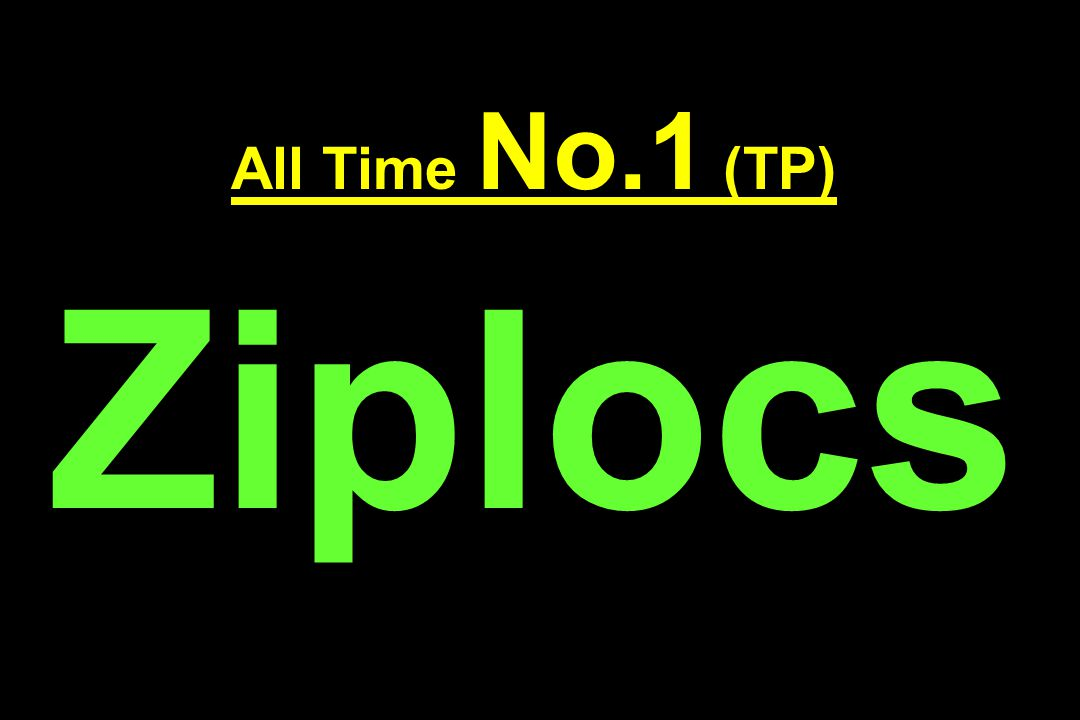 All Time No.1 (TP) Ziplocs