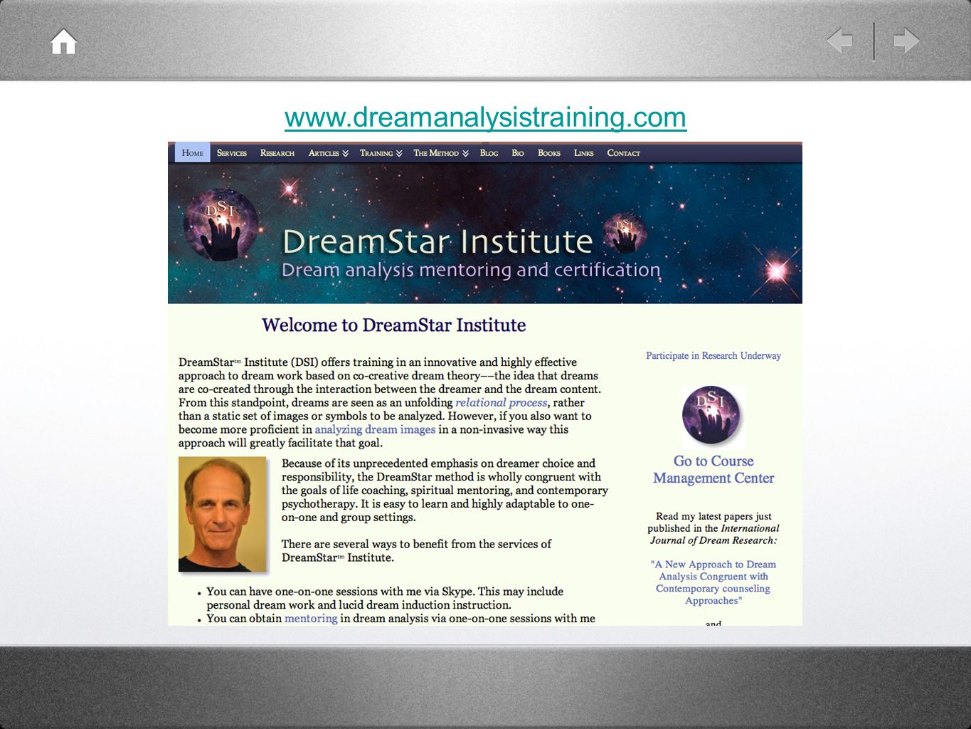 www.dreamanalysistraining.com