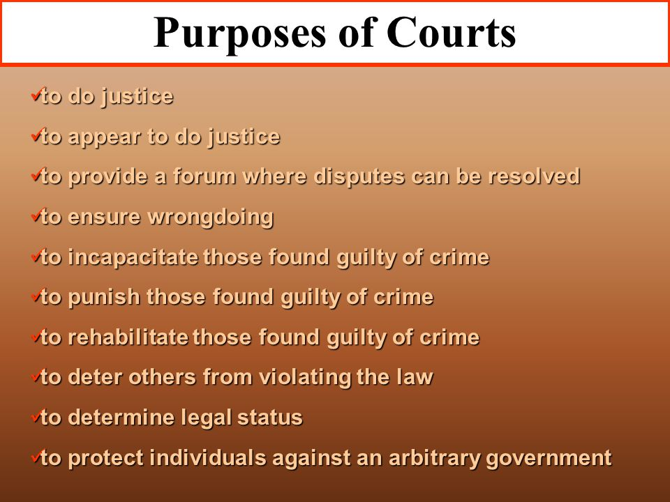 State Courts of Last Resort Usually the state's Supreme Court Usually the state's Supreme Court Texas has 2, one for criminal and one for civil Texas