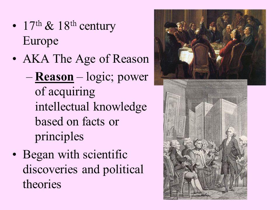 Combination of Renaissance curiosity with scientific method to study & improve society, religion, etc.