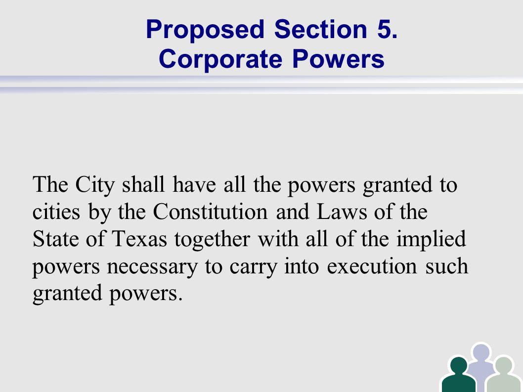 Proposed Section 11 Duties of the Mayor The Mayor of the city shall be the presiding officer of the Council maintaining order and decorum.