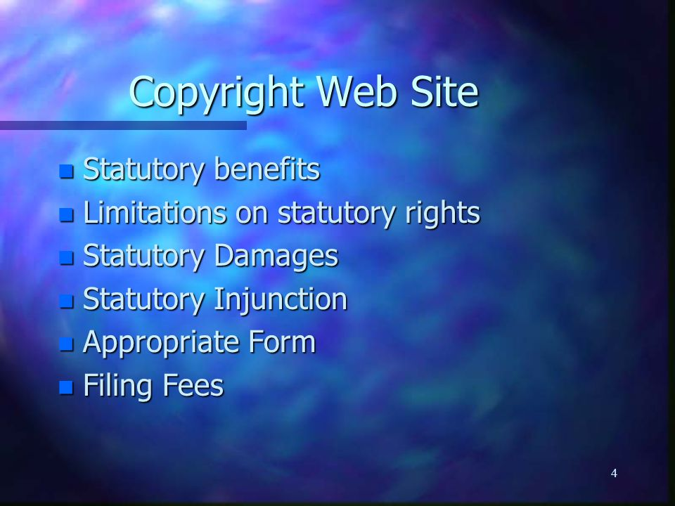 25 Elements of Fair Use n Commercial or non-commercial use - profit or non-profit.