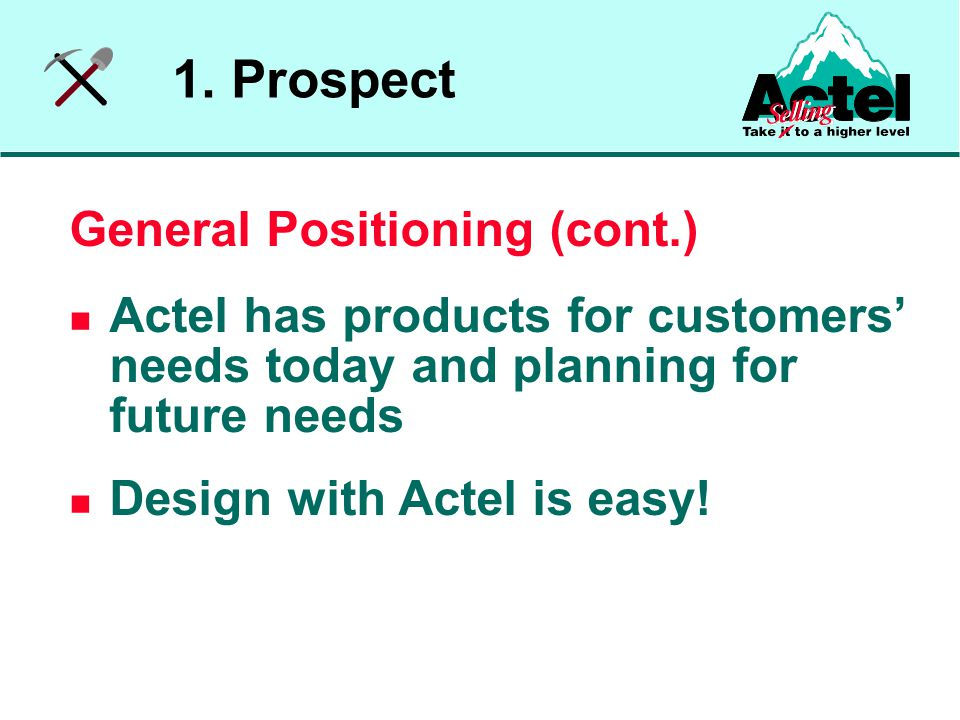 Assemble appropriate strategy Assign specific actions (eg.