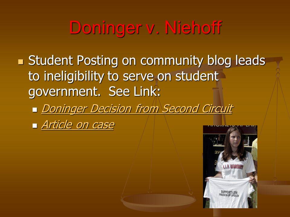Doninger v.