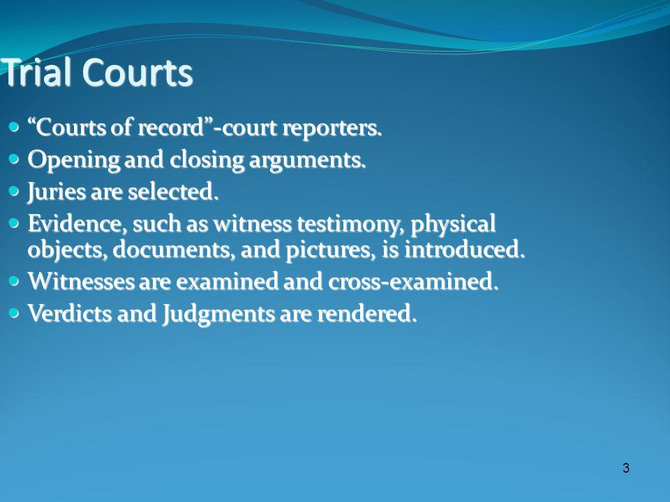 The Trial [6] Verdict.