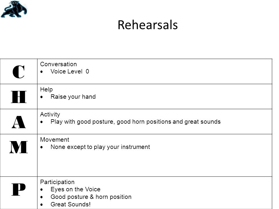 7.How should you exit the band room when the bell rings.