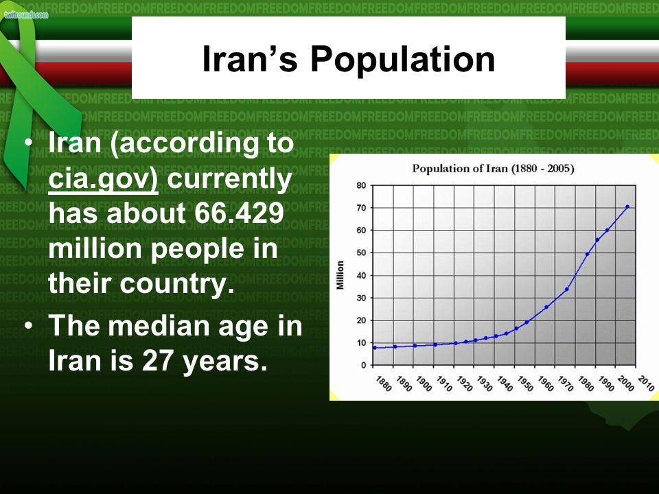 Iran's Religion 98%- Muslim (89% Shia, 9% Sunni), 2%- other (Zoroastrian, Jewish, Christian, Baha'i)
