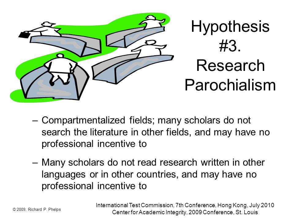 Hypothesis #3.
