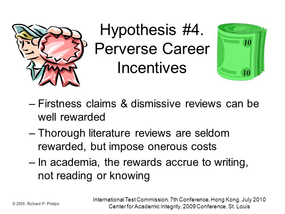 Hypothesis #4.