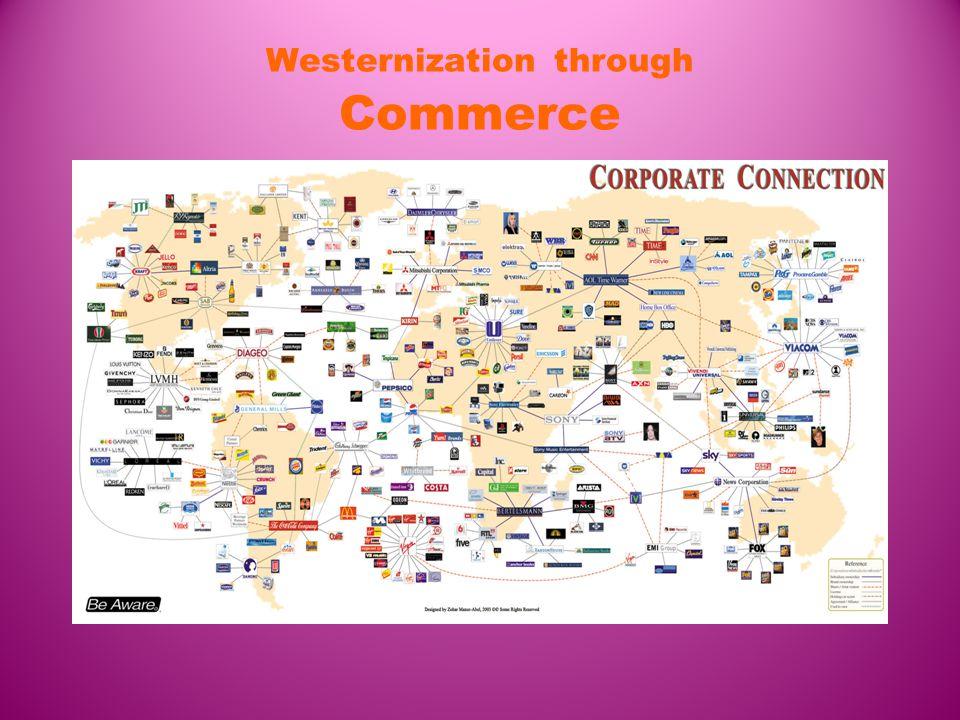 Westernization through Commerce