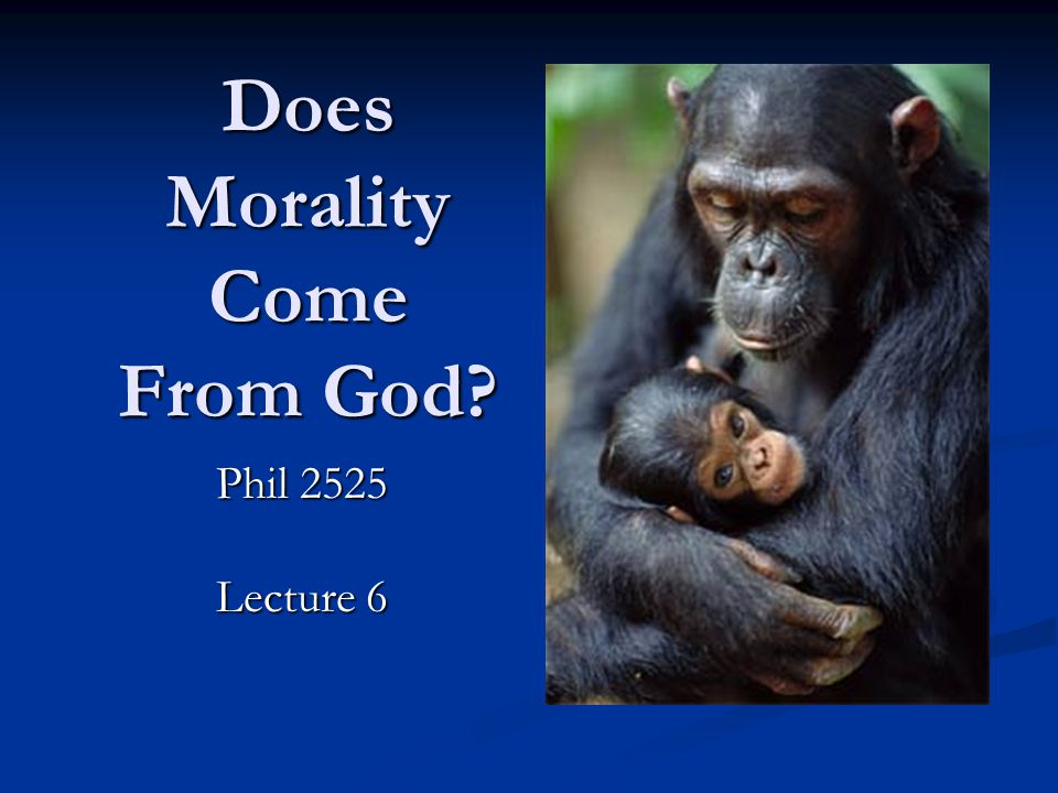 Problems for the Divine Command Theory...1. makes morality mysterious.