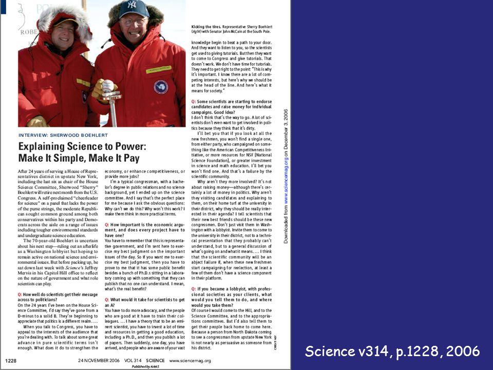 Science v314, p.1228, 2006
