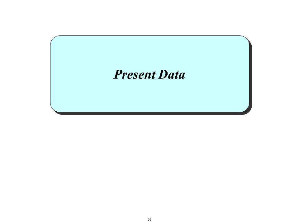Present Data 26