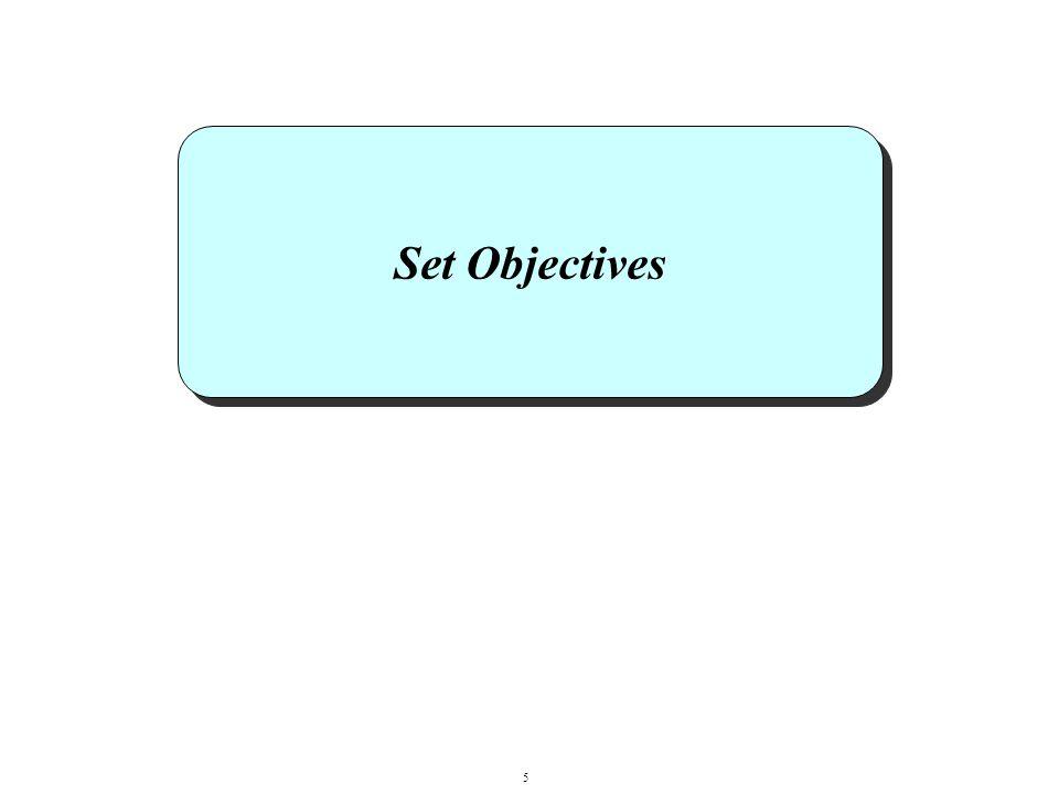 Set Objectives 5