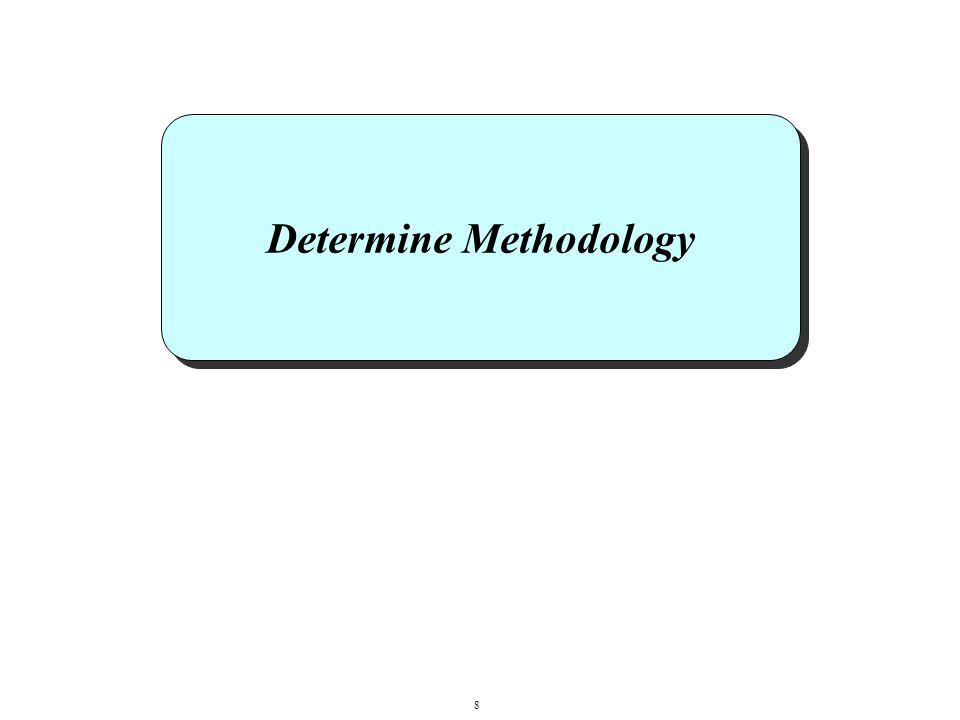 Determine Methodology 8