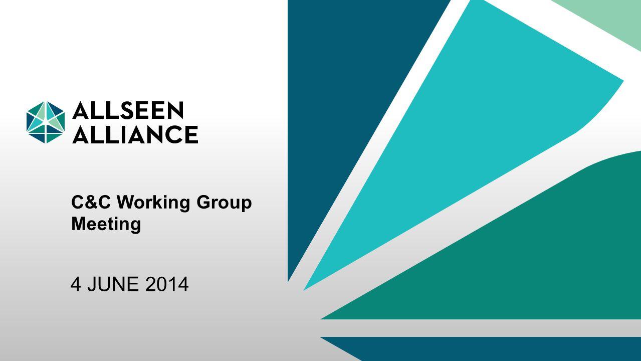 3 May 2015 AllSeen Alliance 1 C&C Working Group Meeting 4 JUNE 2014