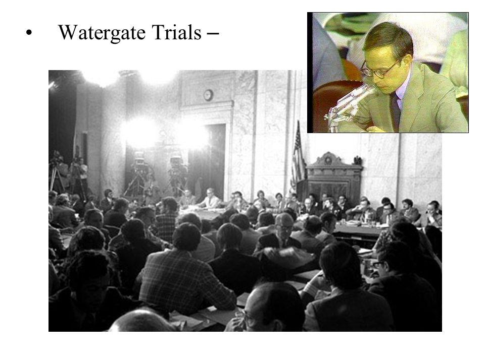 Watergate Trials –