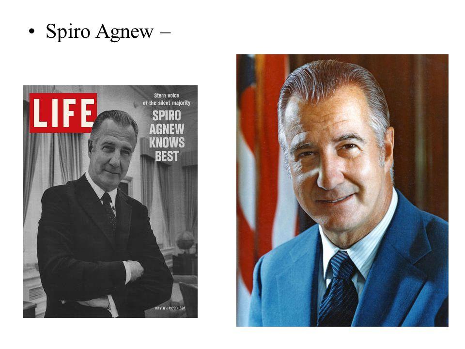 Spiro Agnew –