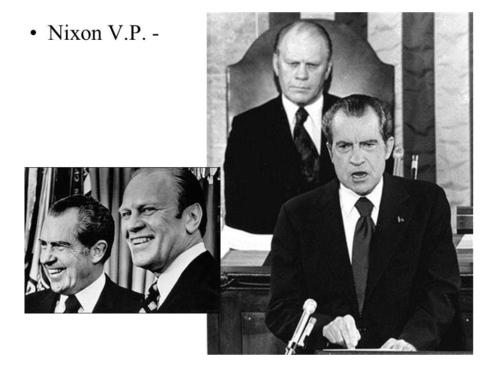 Nixon V.P. -