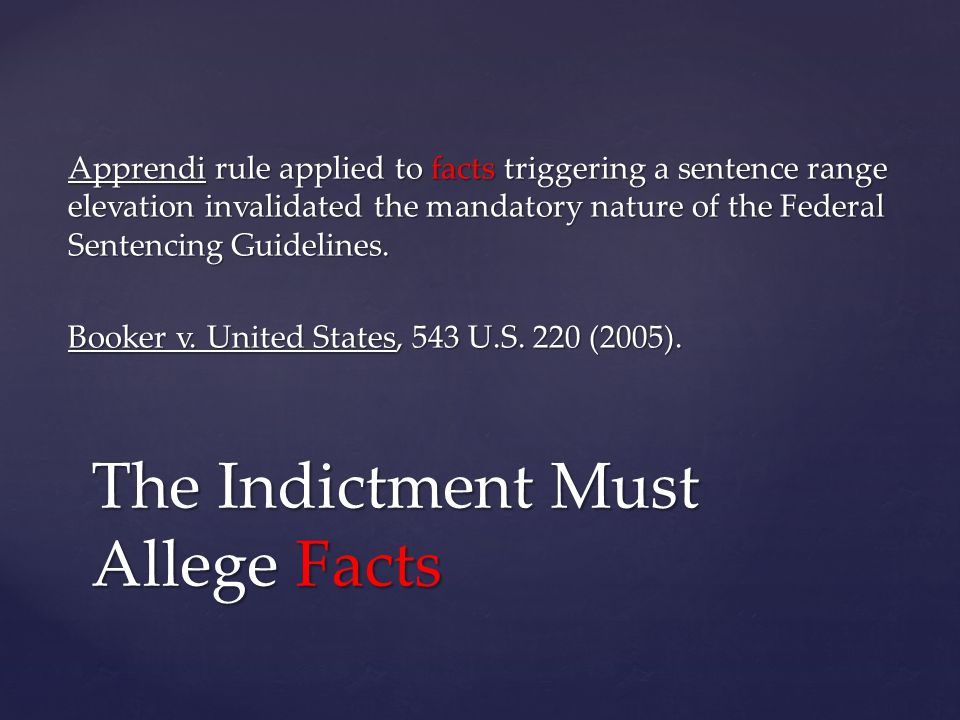Apprendi rule applied to facts permitting a sentence in excess of the standard range under Washington s Sentencing Reform Act.