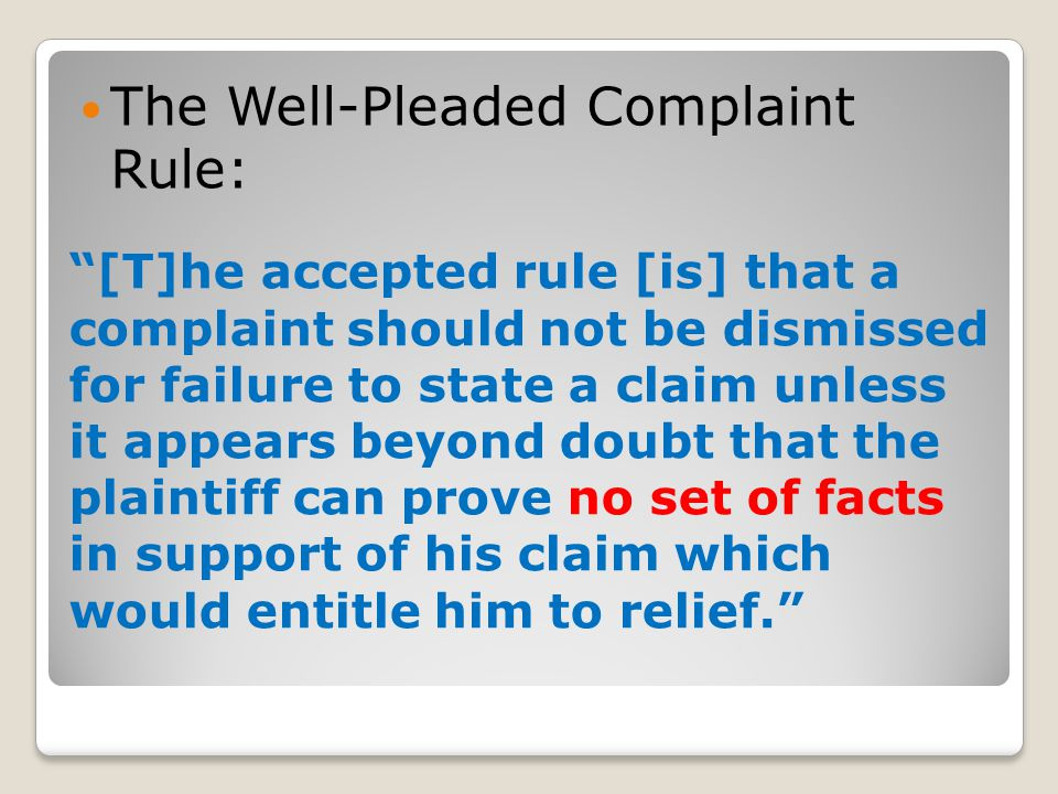 Rule 8. General Rules of Pleading (a) CLAIM FOR RELIEF.