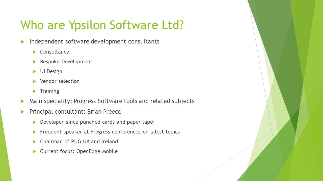 Who are Ypsilon Software Ltd.