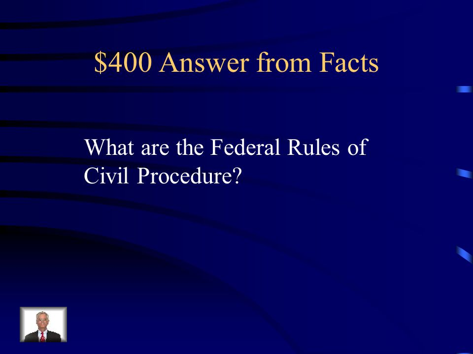 $400 Answer from Facts 2