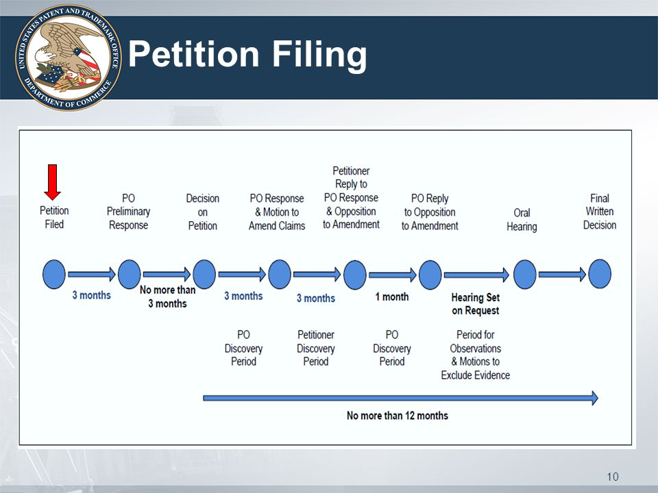 10 Petition Filing