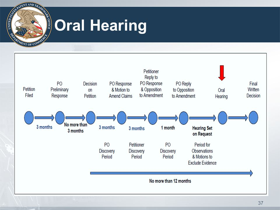 Oral Hearing 37
