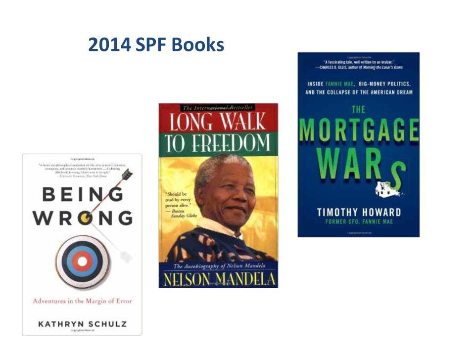 2014 SPF Books