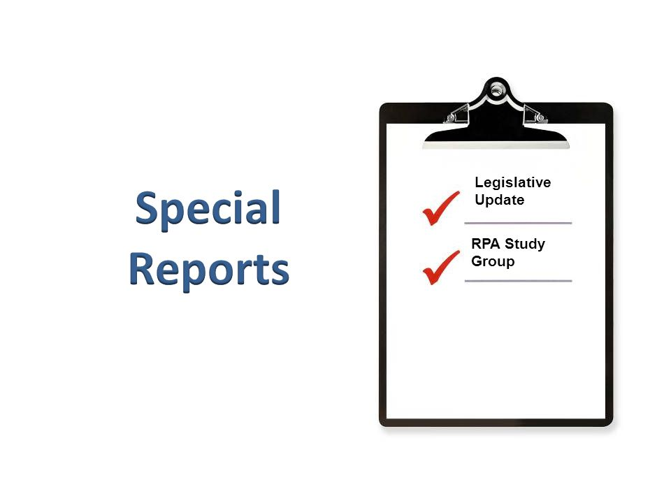 RPA Study Group Legislative Update