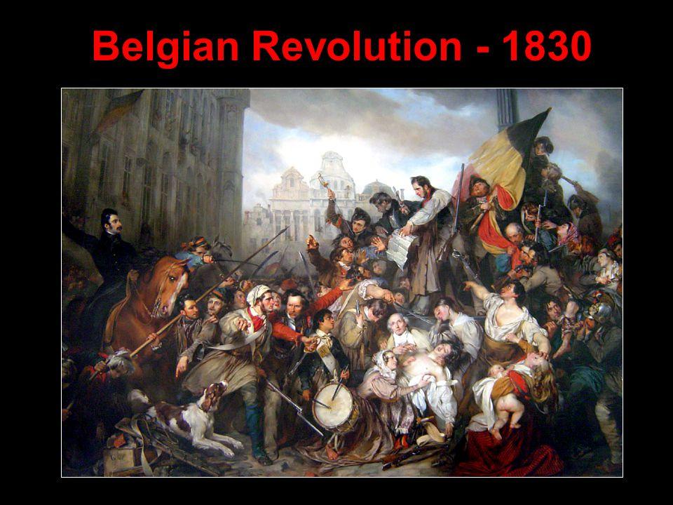 Belgian Revolution - 1830