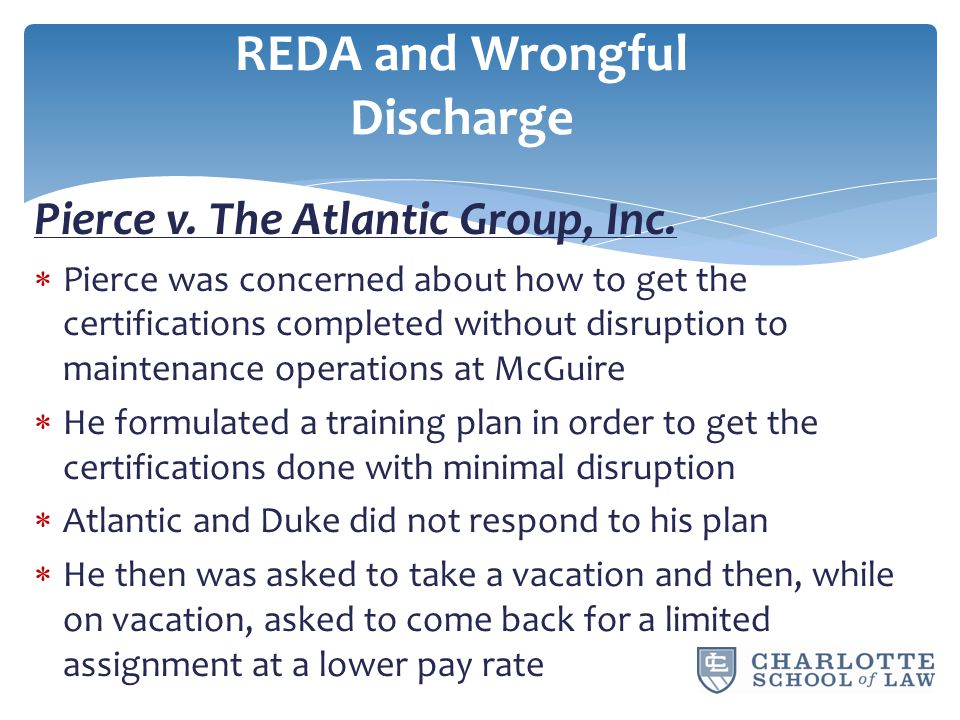 Pierce v. The Atlantic Group, Inc.