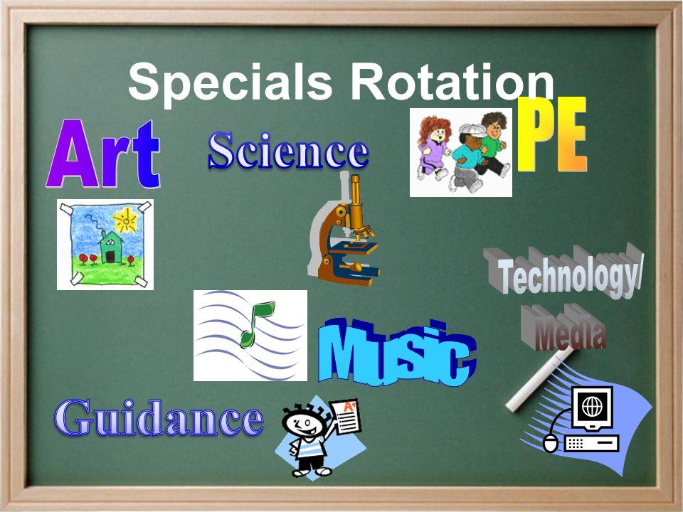 Specials Rotation