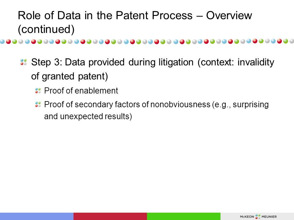 Data Provided During Litigation (Janssen v.