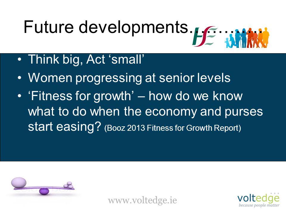 www.voltedge.ie Future developments………….