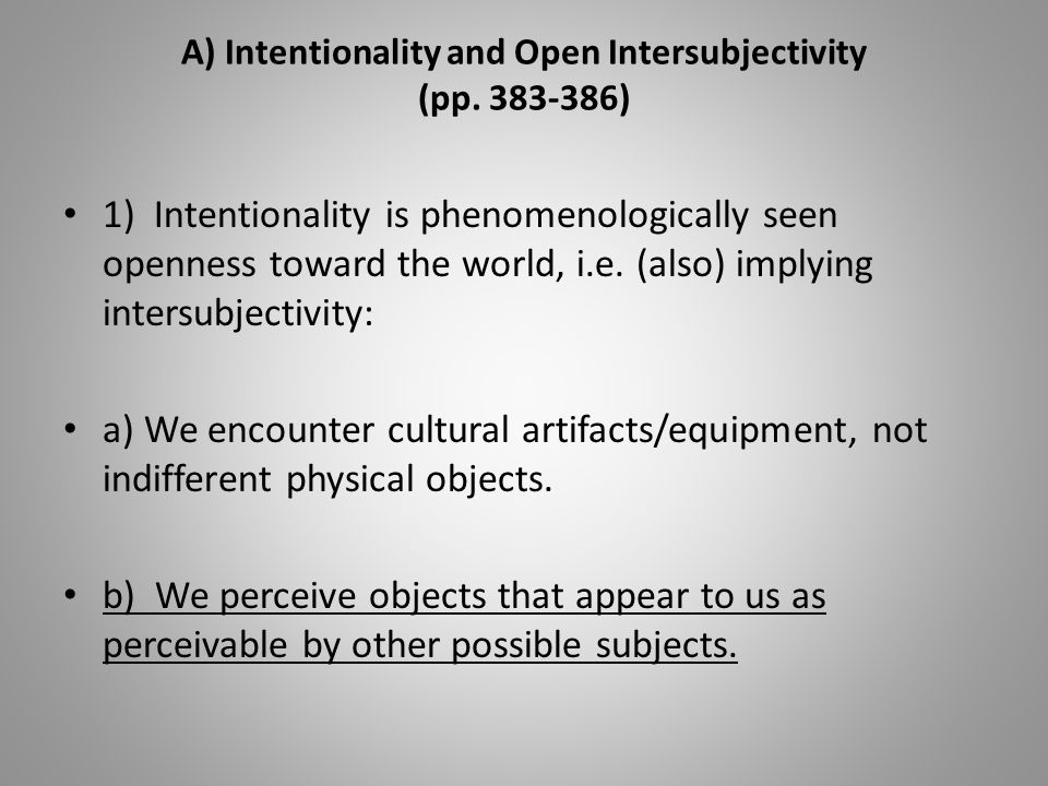 G) Enculturation (pp.402-411) The Other Half is the word.