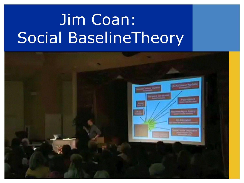 Jim Coan: Social BaselineTheory