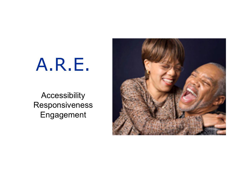 A.R.E. Accessibility Responsiveness Engagement