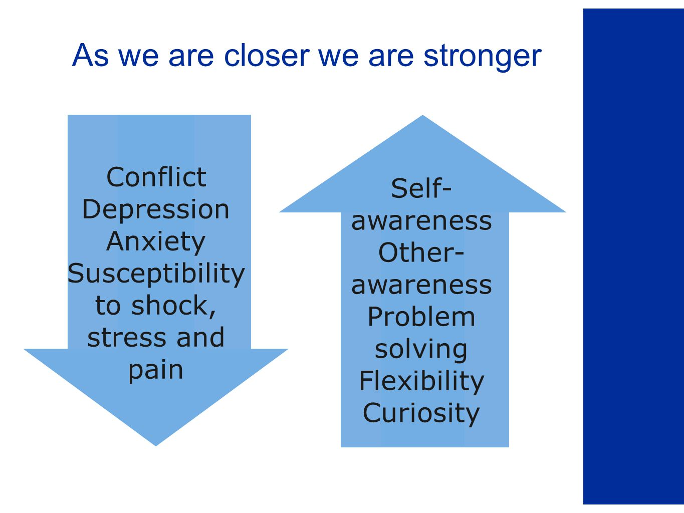 Steps in Forgiveness of Injuries 7.Together create a story of healing.